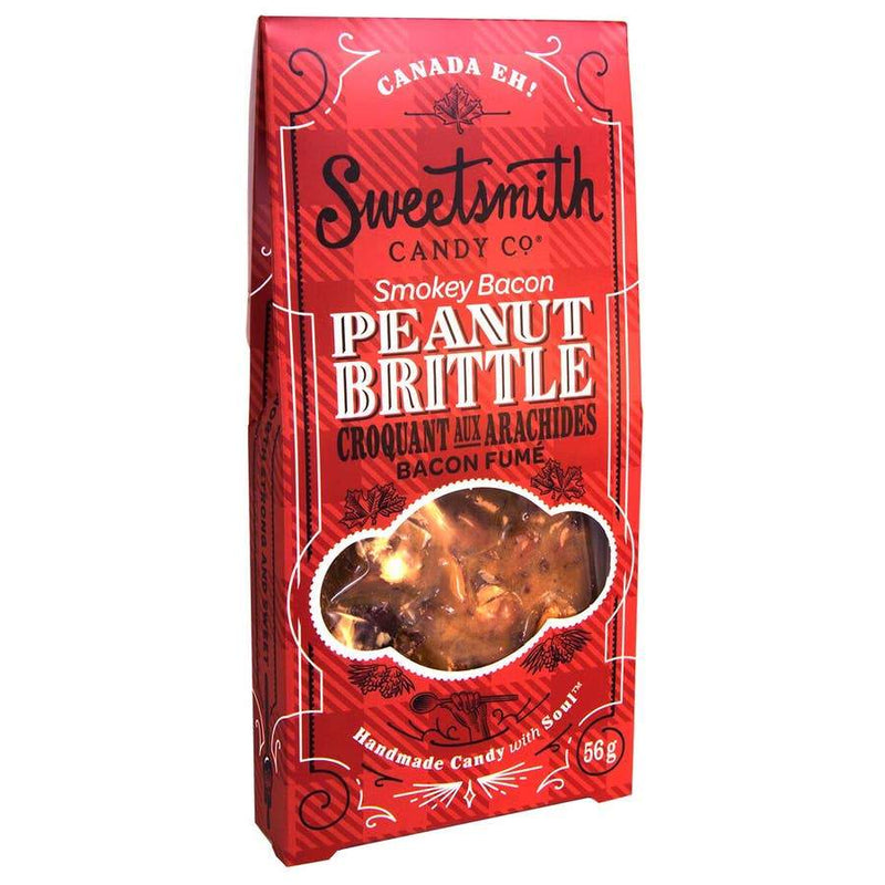 Smokey Bacon Peanut Brittle - Candy - GIFTABLE GOODIES