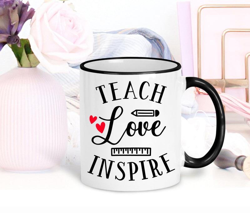 CLEARANCE - Teach Love Inspire Coffee Mug -  - GIFTABLE GOODIES
