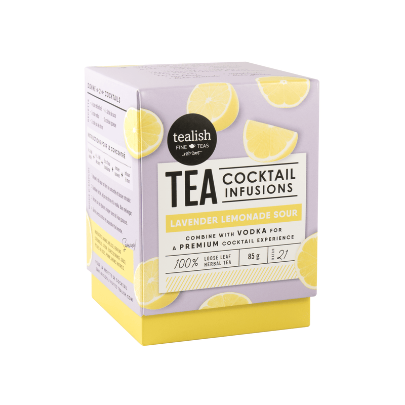 Lavender Lemonade Sour Tea Cocktail Fusion - Tea - GIFTABLE GOODIES