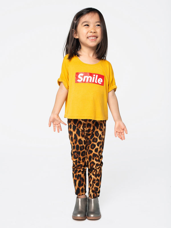 """SMILE"" BOXY TOP"