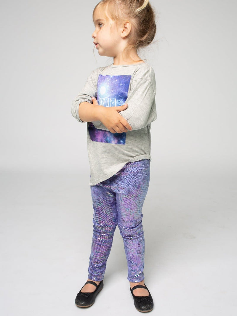 HOLOGRAM SNAKE LEGGINGS
