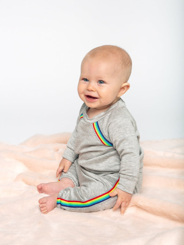 RAINBOW STRIPE 2PC SET