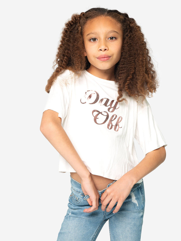 """DAY OFF"" BOXY TEE"