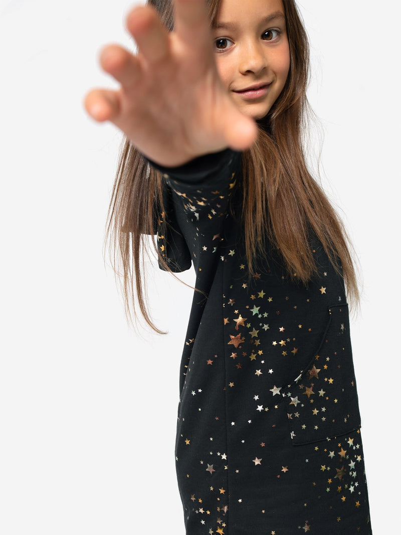 STARRY NIGHT HOODIE DRESS