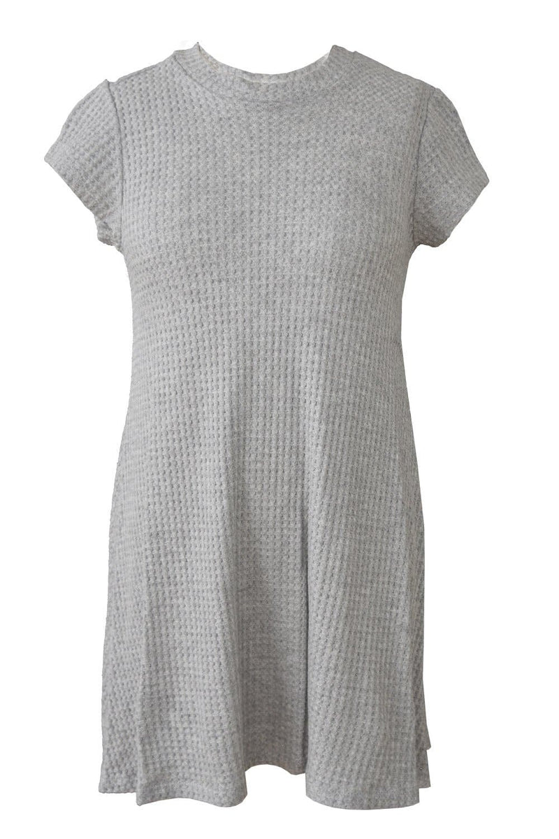 Natural Beauty Turtle Neck Swing Dress