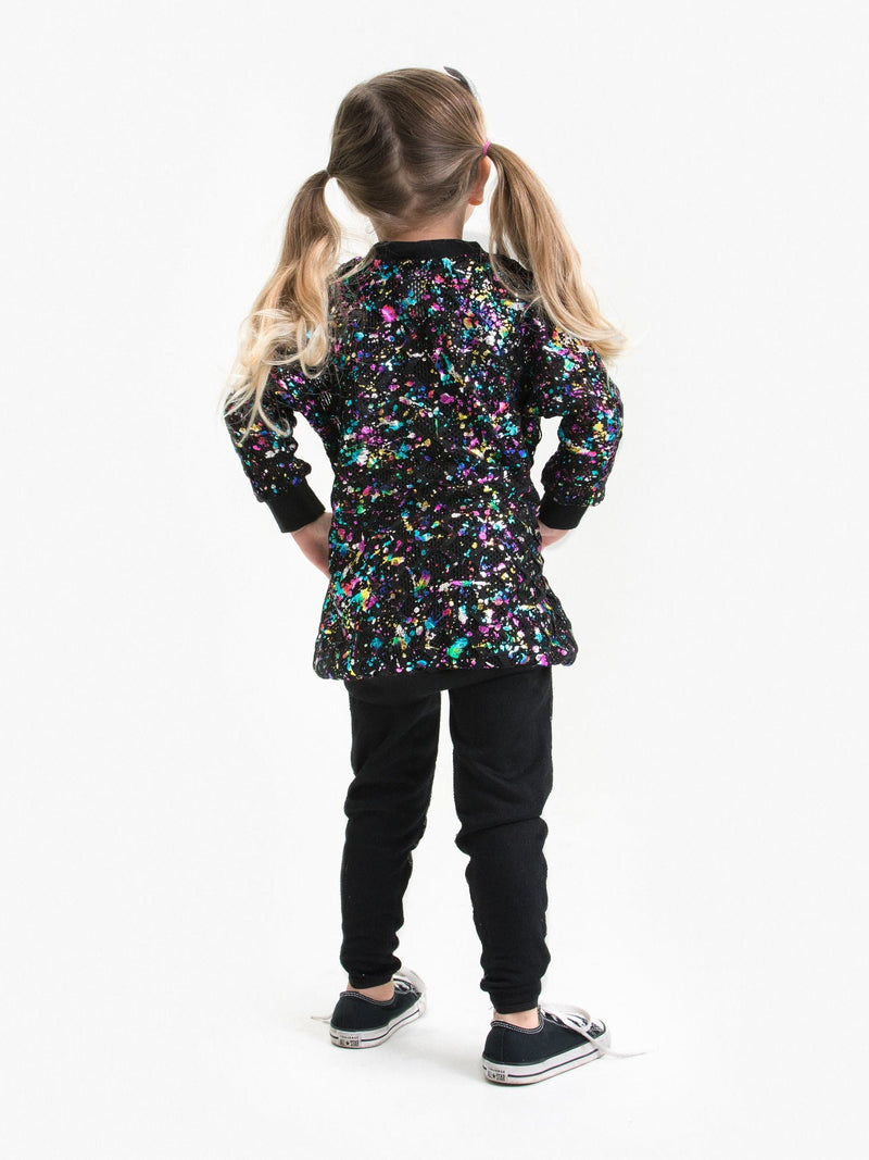 IRIDESCENT SEQUIN LEGGING