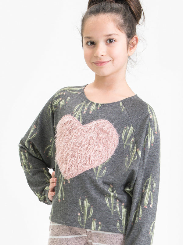 CACTUS DREAM PULL OVER FT. SHAGGY HEART