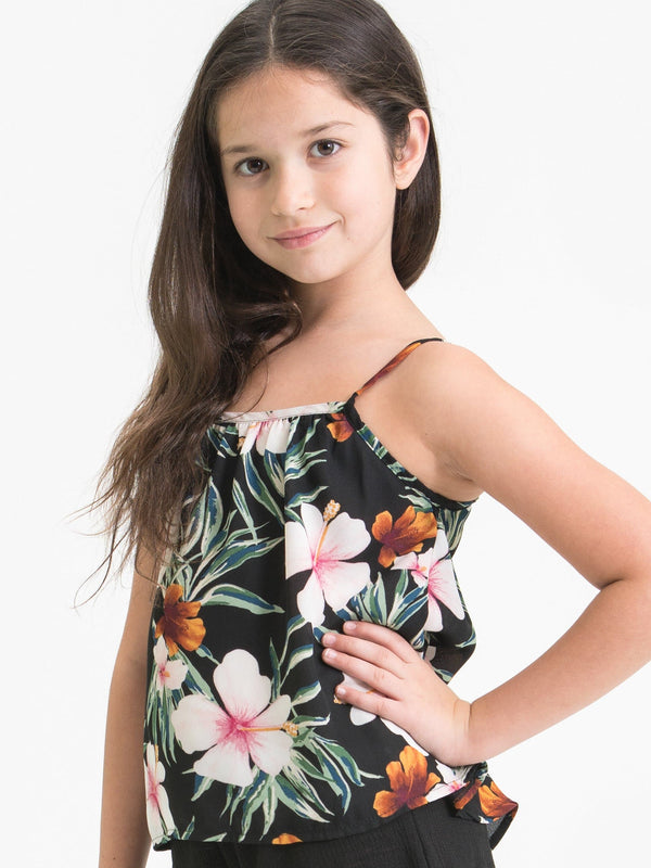 HIBISCUS FLOWER SWING TOP