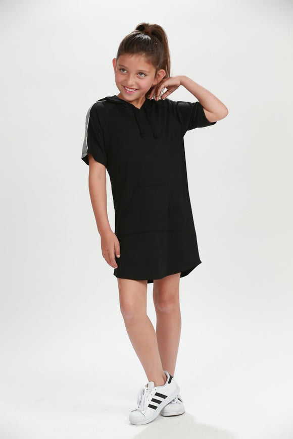 Model Citizen Hooded Terrie Dress
