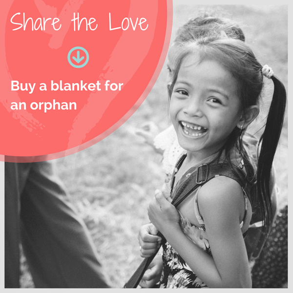 Double Your Impact.  Buy a blanket for an orphan.