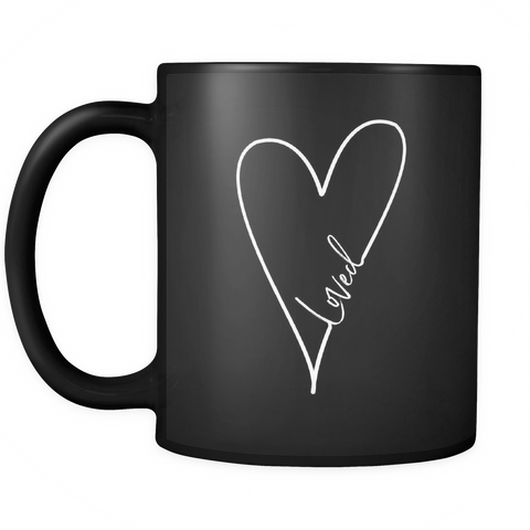 Loved Coffee Mug | Black