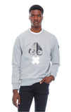 X-MARK SWEATSHIRT MEN CHARCOAL MELANGE