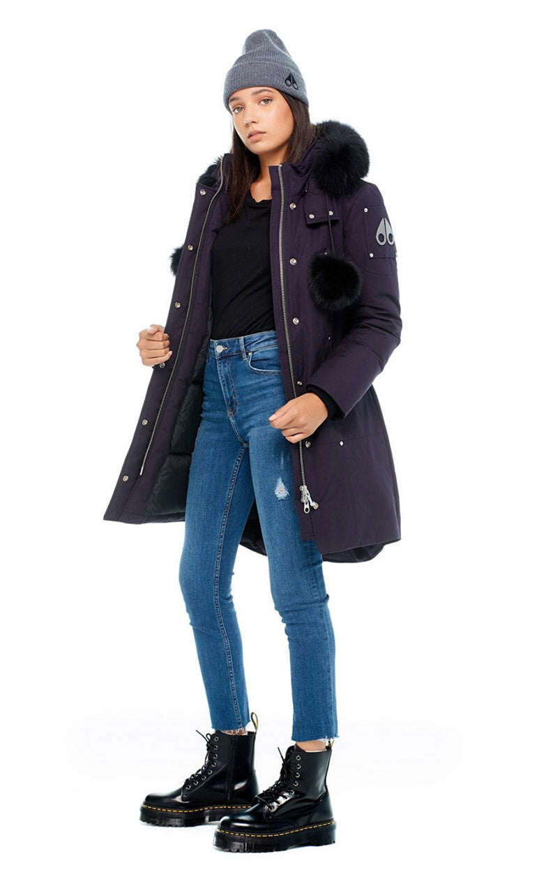 Stirling Parka Women's Abyss/Black Fur