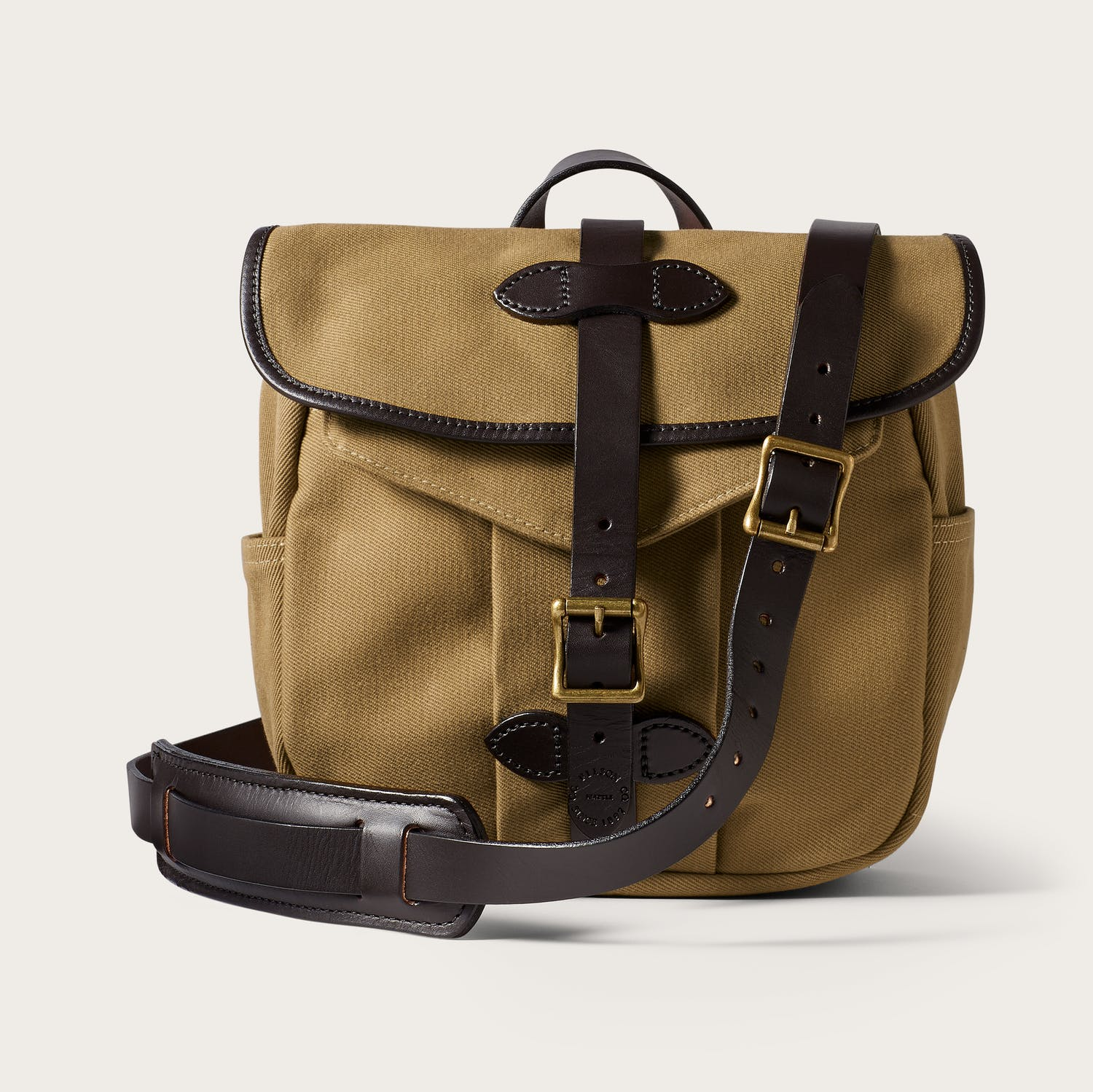 Filson Small Rugged Twill Field Bag - Tan