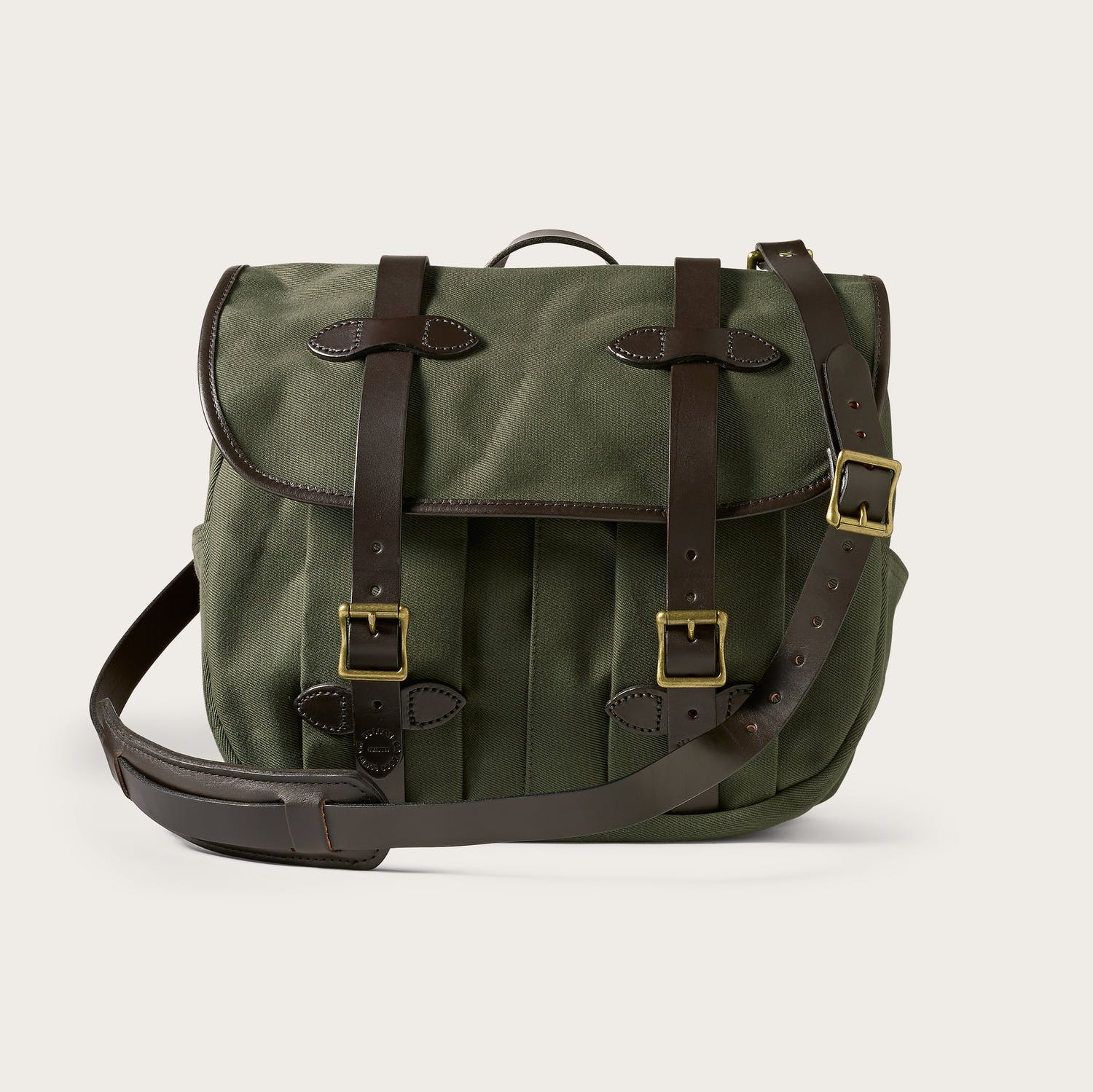 Filson Medium Rugged Twill Field Bag - Otter Green