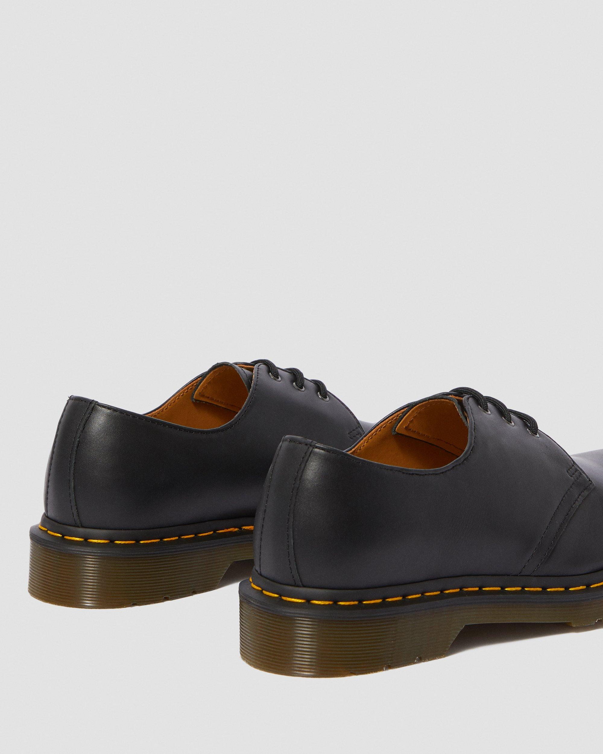 1461 NAPPA LEATHER OXFORD SHOES (BLACK