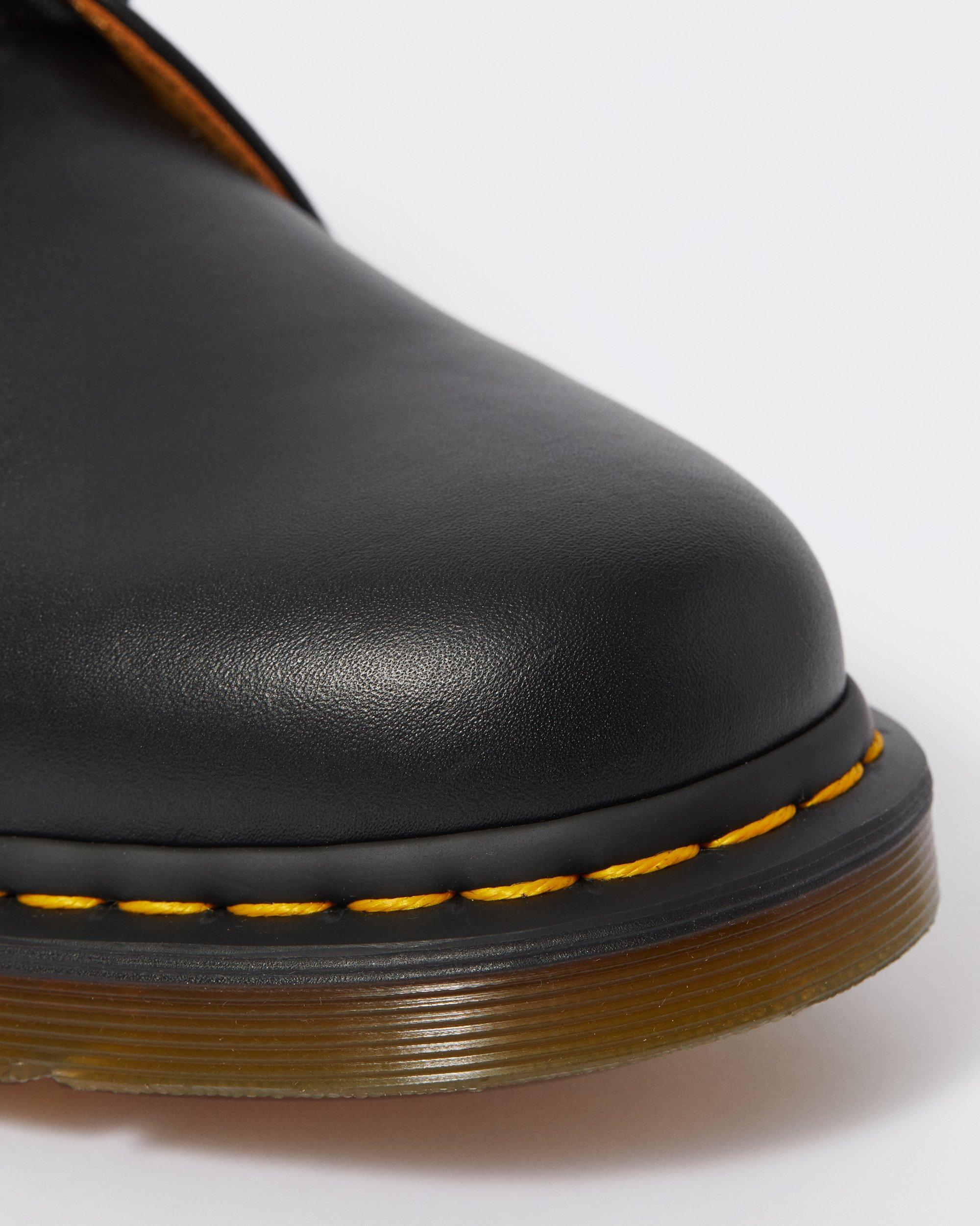 1461 PLAIN WELT (PW) SMOOTH LEATHER OXFORD SHOES (BLACK)