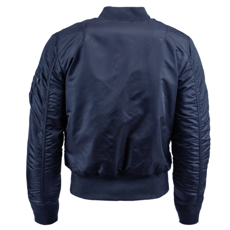 MA-1 Slim Fit Flight Jacket (Replica Blue)