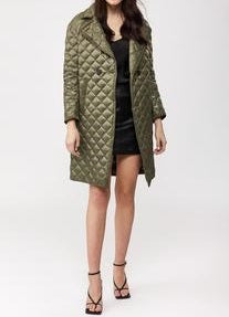 ESME quilted lightweight down coat (Army)