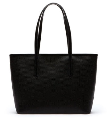 WOMEN'S CHANTACO ZIPPERED PIQUE LEATHER TOTE BAG (NF2116CE)