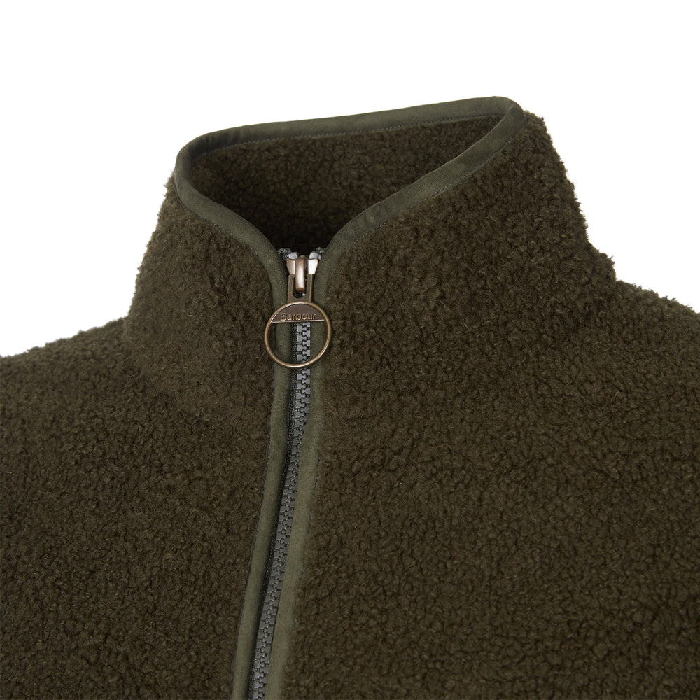 BARBOUR MILLHOUSE FLEECE (OLIVE/WINTER BLACK BERRY, WINTER PEARL/OLIVE)