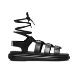 Kristina New Oily Illusion Women's Sandals (Black)