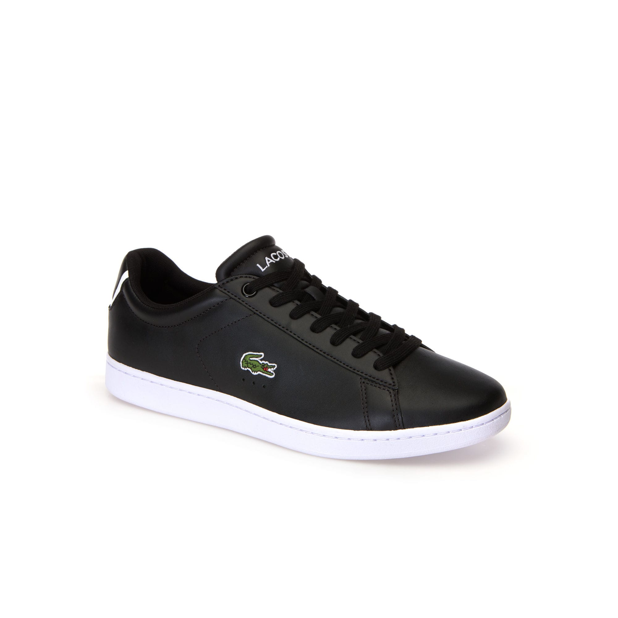 Men's Carnaby Evo BL Leather Sneakers (Black)