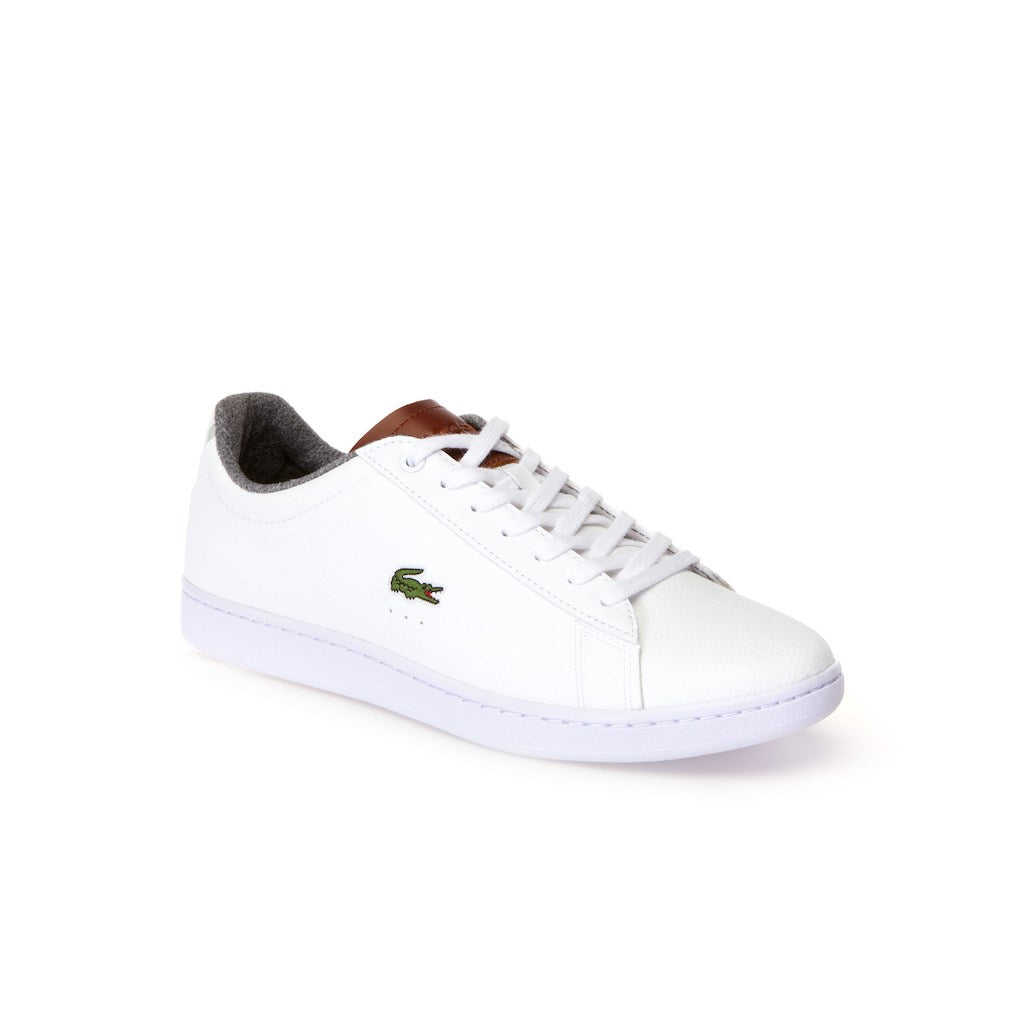 Men's Carnaby Evo Warm Leather Trainers (White/Brown)