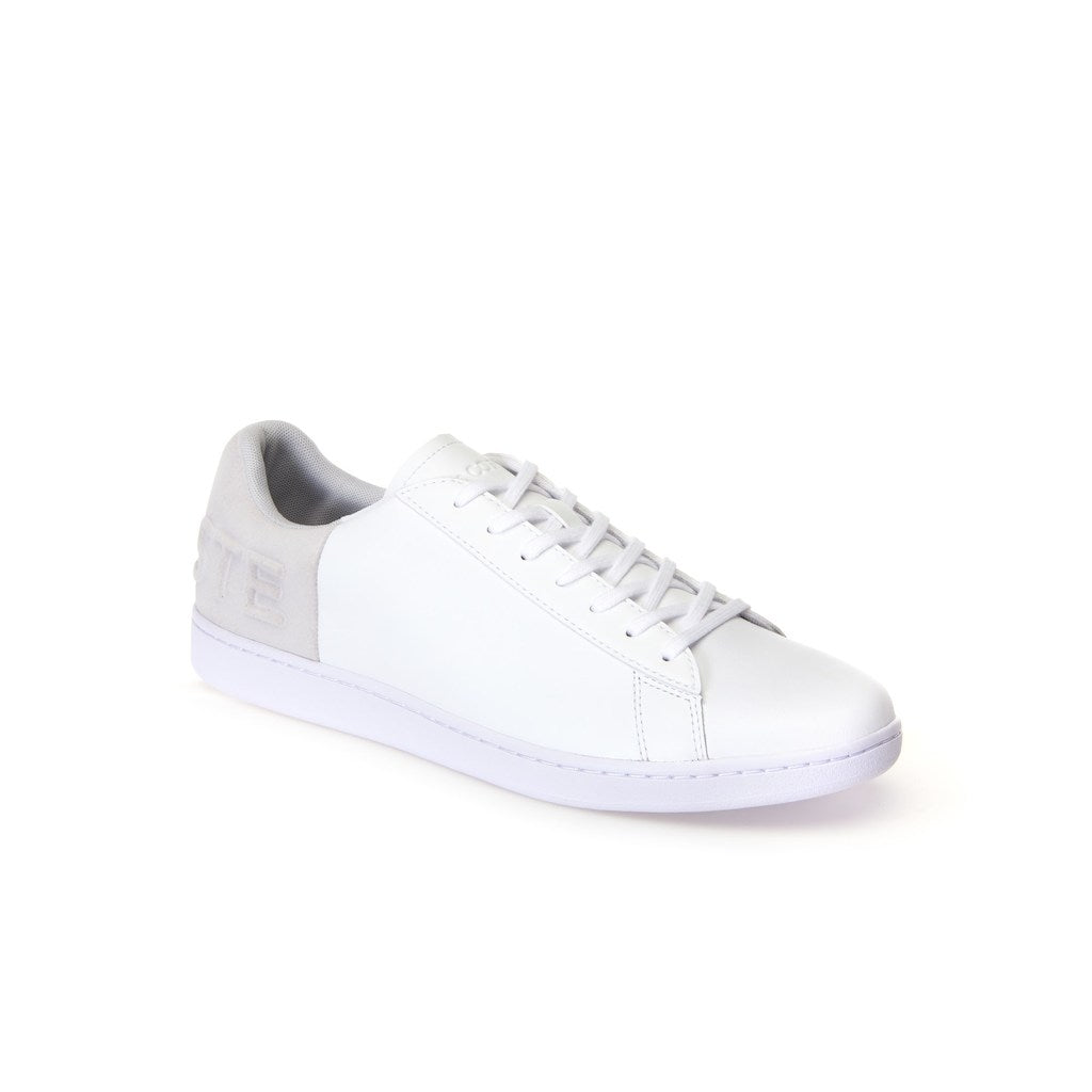 703d28a389 Men's Carnaby Evo Leather and Suede Trainers (White/Light Grey)