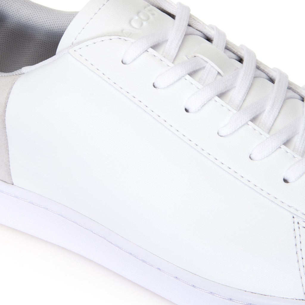 4d46ec1d23 Men's Carnaby Evo Leather and Suede Trainers (White/Light Grey ...