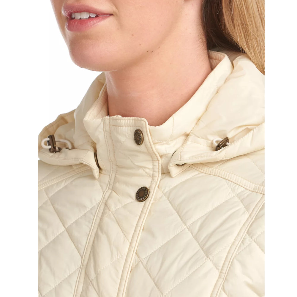 BARBOUR JENKINS QUILTED JACKET (WINTER PEARL/NAVY/OLIVE)