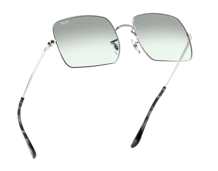 Ray-Ban Square 1971 Washed Evolve RB1971 (Light Blue Photochromic Evolve)