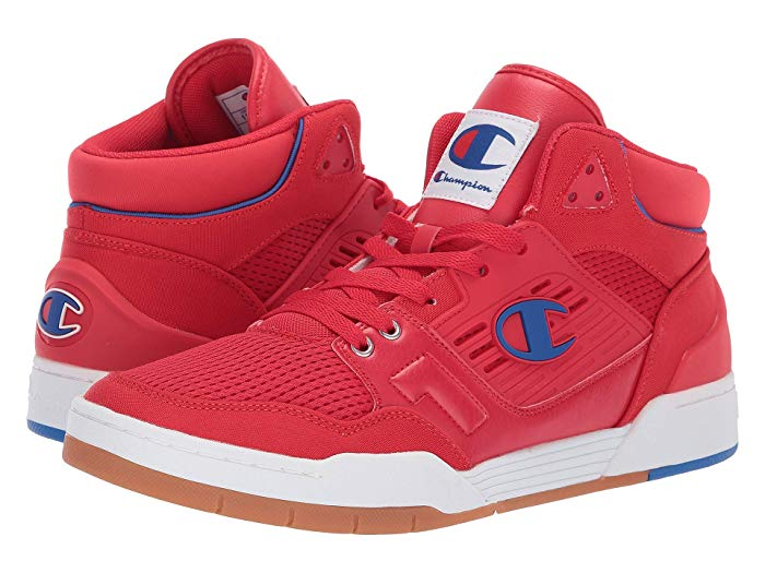 Champion Men's 3 on 3 SP Sneakers (Red