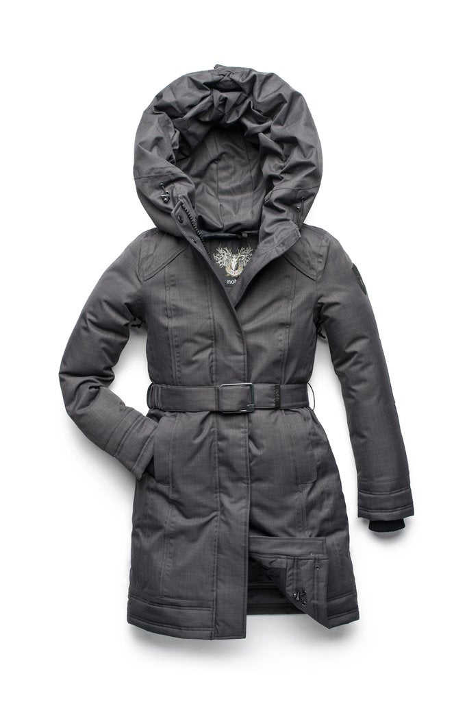 ASTRID LADIES PARKA (STEEL GREY)