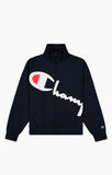 Statement Script Logo Track Jacket (Navy)