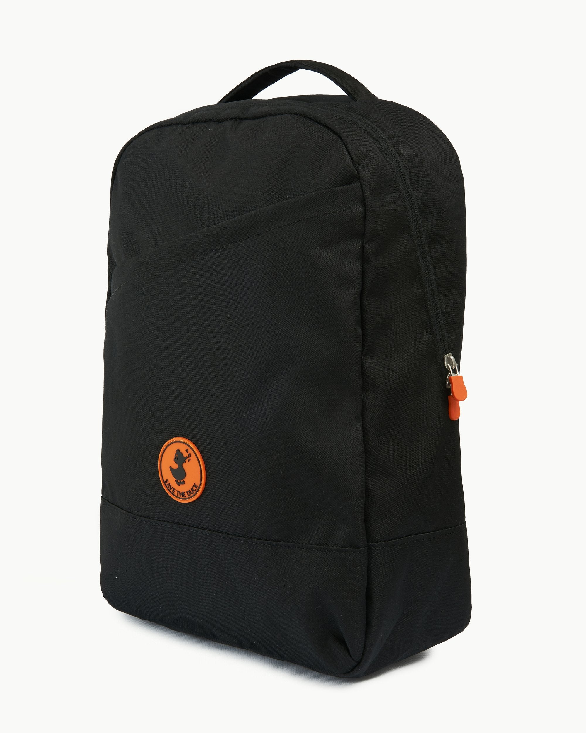 CRUELTY FREE BACKPACK MADE FROM RECYCLED PLASTIC BOTTLES BLACK