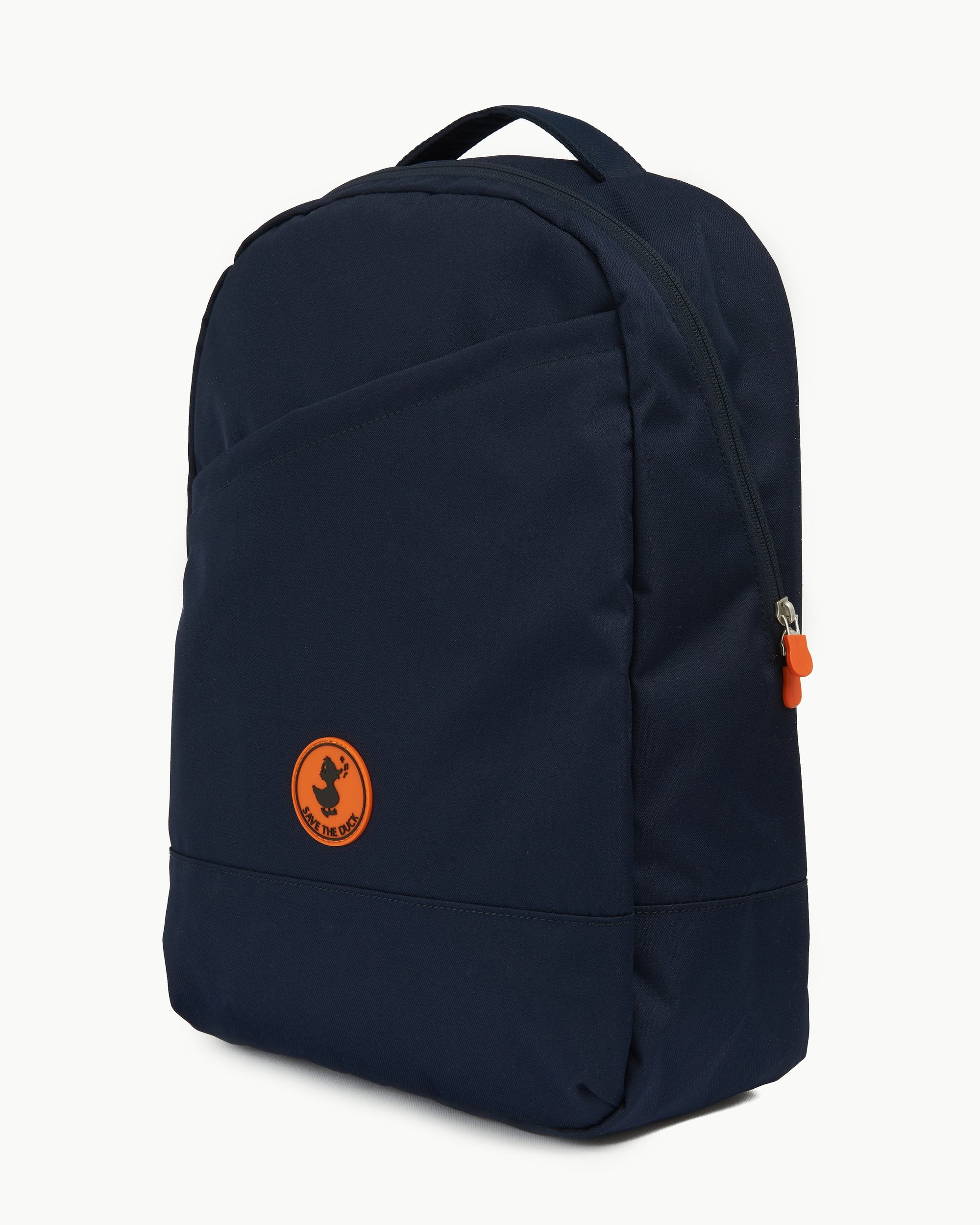 CRUELTY FREE BACKPACK MADE FROM RECYCLED PLASTIC BOTTLES Navy Blue