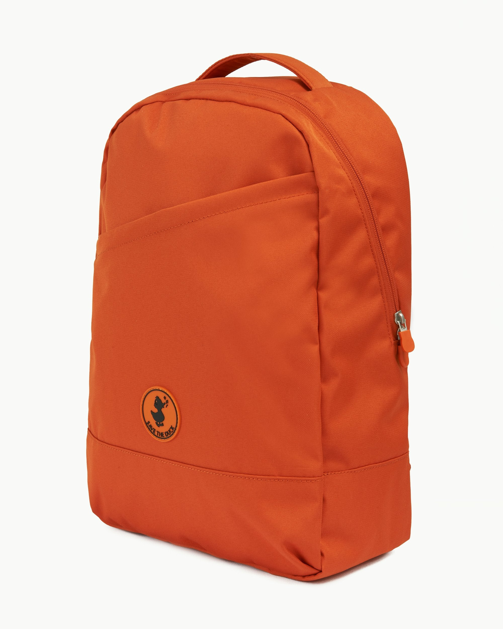 CRUELTY FREE BACKPACK MADE FROM RECYCLED PLASTIC BOTTLES Maple Orange