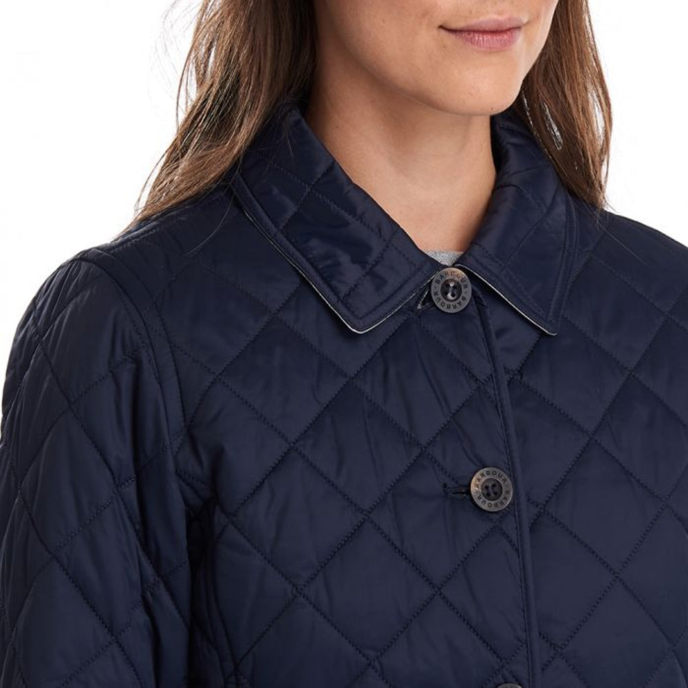 BARBOUR FREYA QUILTED JACKET (NAVY)