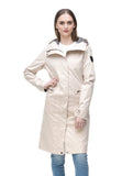 HARPER LADIES LONG RAINCOAT (CAMEL)