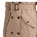 BARBOUR CORNELL QUILTED JACKET (LT TRENCH/BLACK)