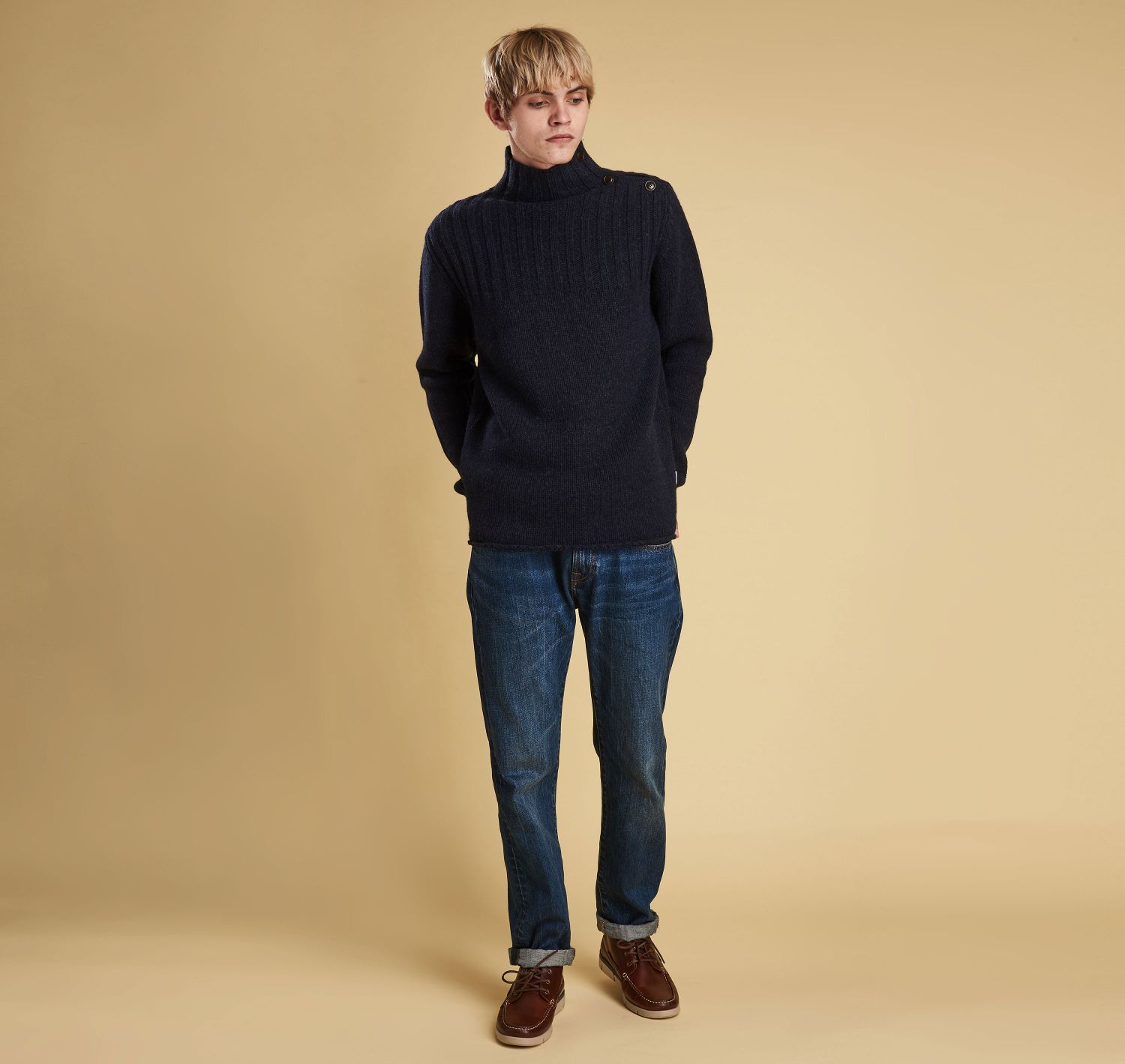 Made for Japan Thetford Button Neck