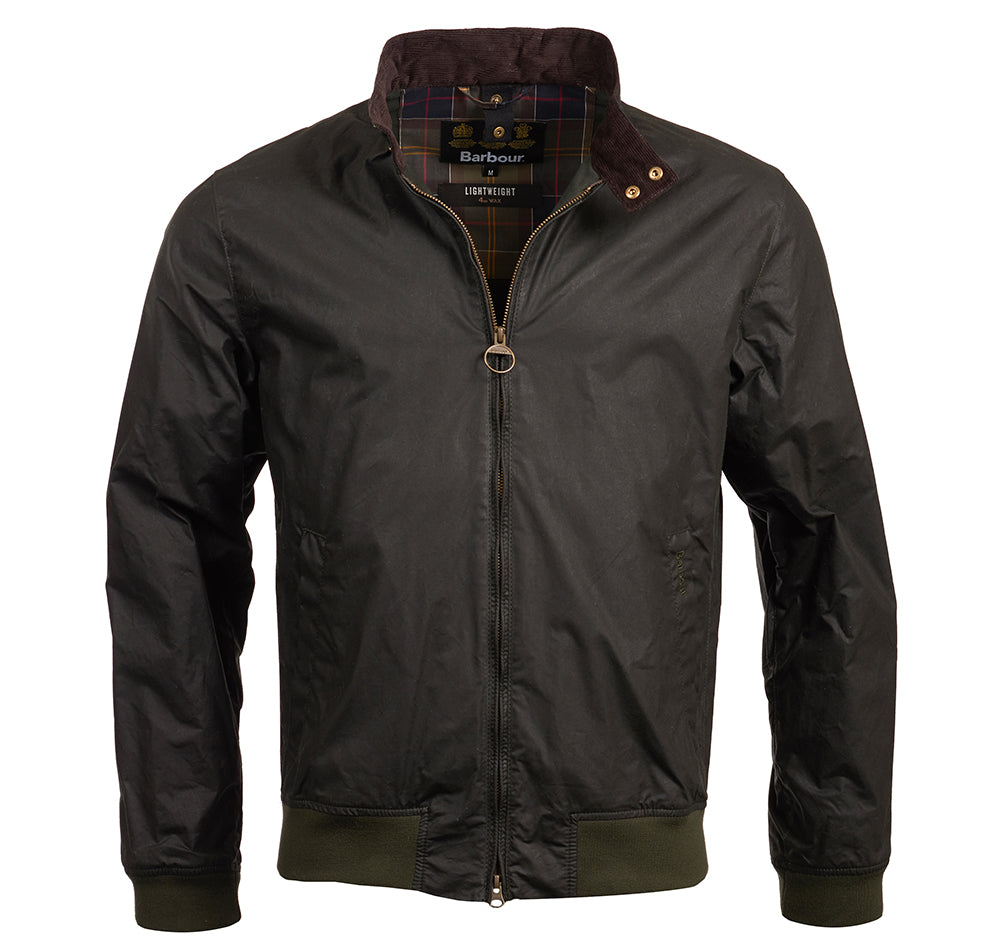 Lightweight Royston Wax Jacket (Sage)