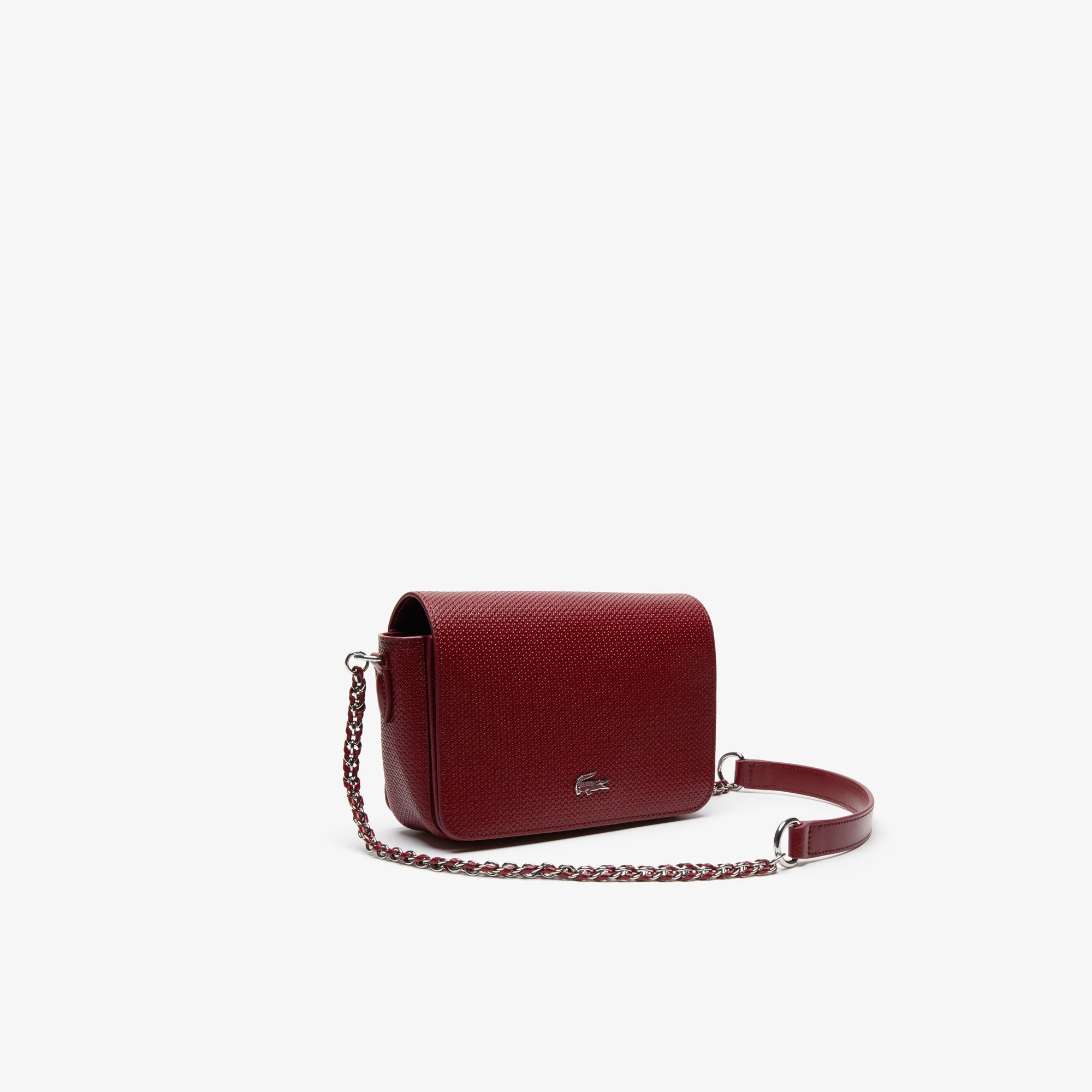 Women's Chantaco Piqué Leather Shoulder Bag- Twany Port