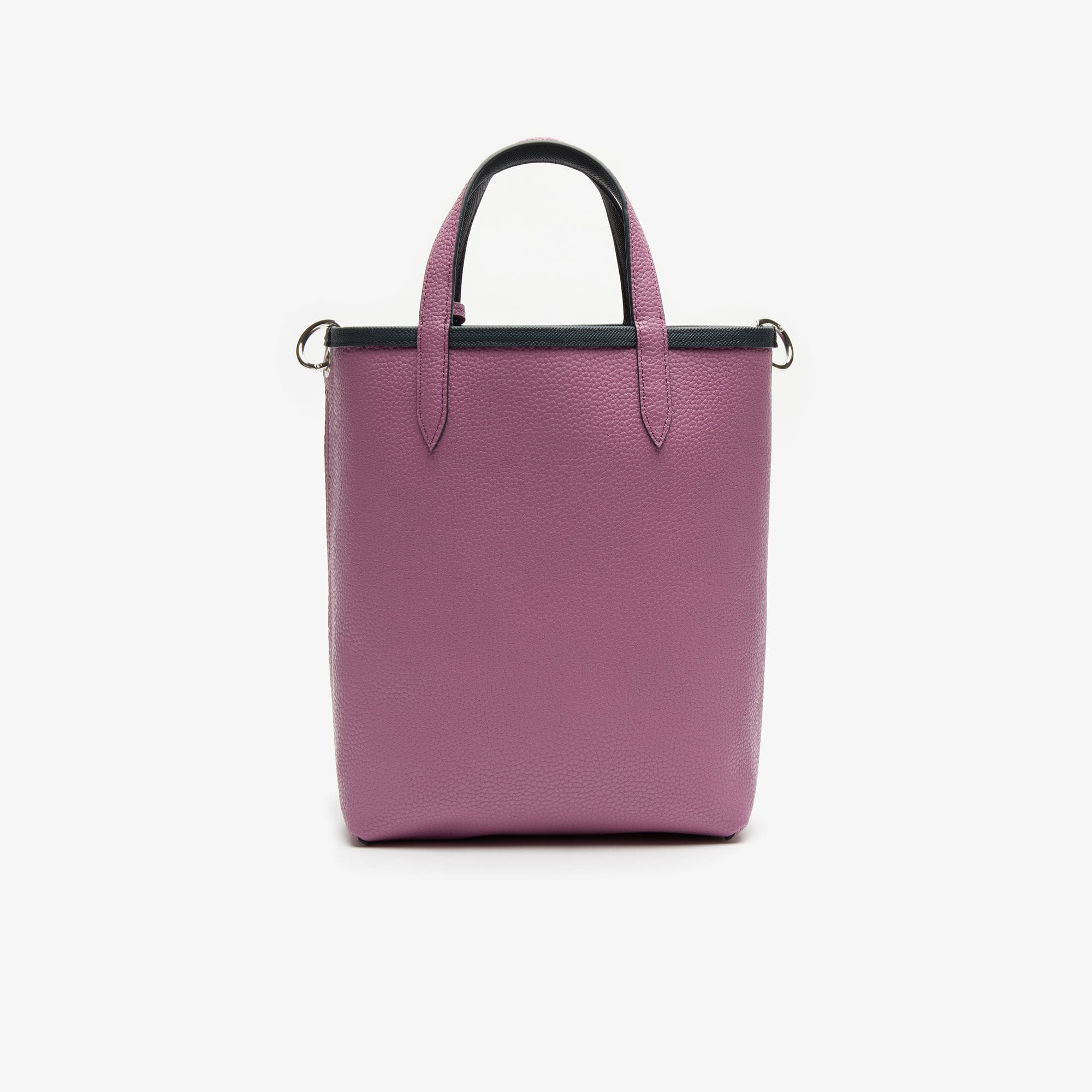 Women's Anna Reversible Coated Canvas Tote Bag (EBONY ORCHID)
