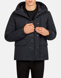 SAVE THE DUCK MEN'S SMEG WINTER HOODED PRACTICAL PARKA Black
