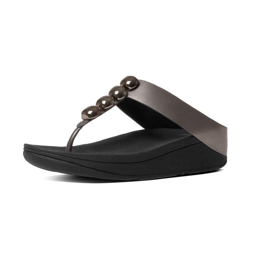 Rola Leather Toe Thong Sandals