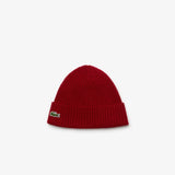 MEN RIBBED WOOL BEANIE (NAVY BLUE, BORDEAUX)