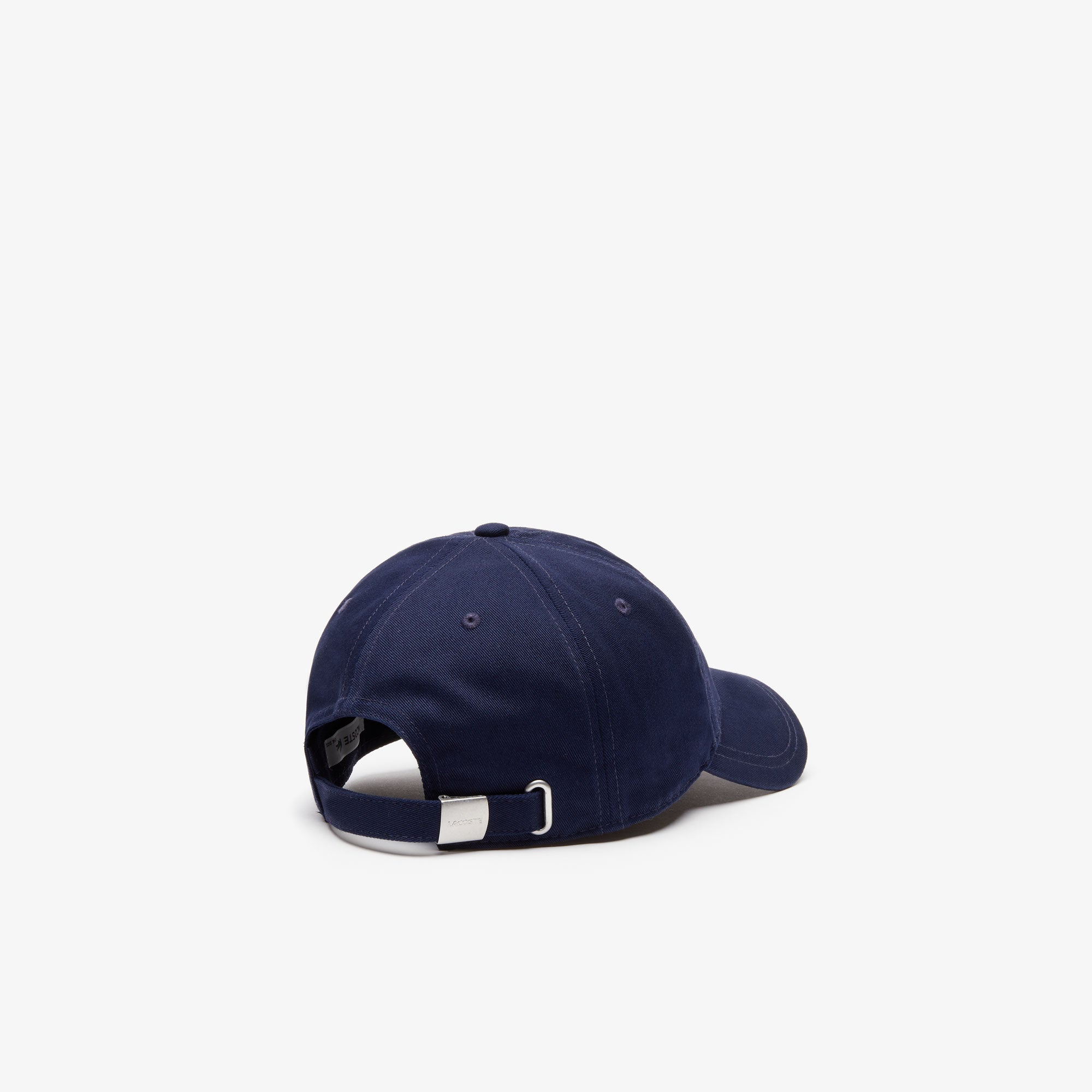 Men's Embroidered Crocodile Cotton Cap NAVY BLUE