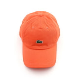 Men's Embroidered Crocodile Cotton Cap PEACH